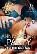 Anniversary party--Nuit exclusivement couples et filles seules (A partir de 2h entrée gratuite)